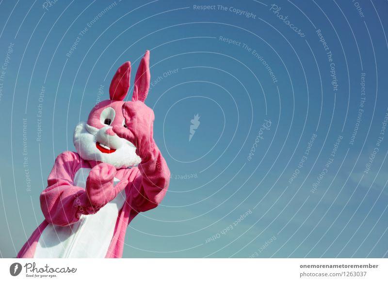 anonymous Kunst Kunstwerk Abenteuer ästhetisch rosa Hase & Kaninchen Hasenohren Hasenjagd Hasenbraten Hasenzahn verstecken Schüchternheit zierlich Presse Hand