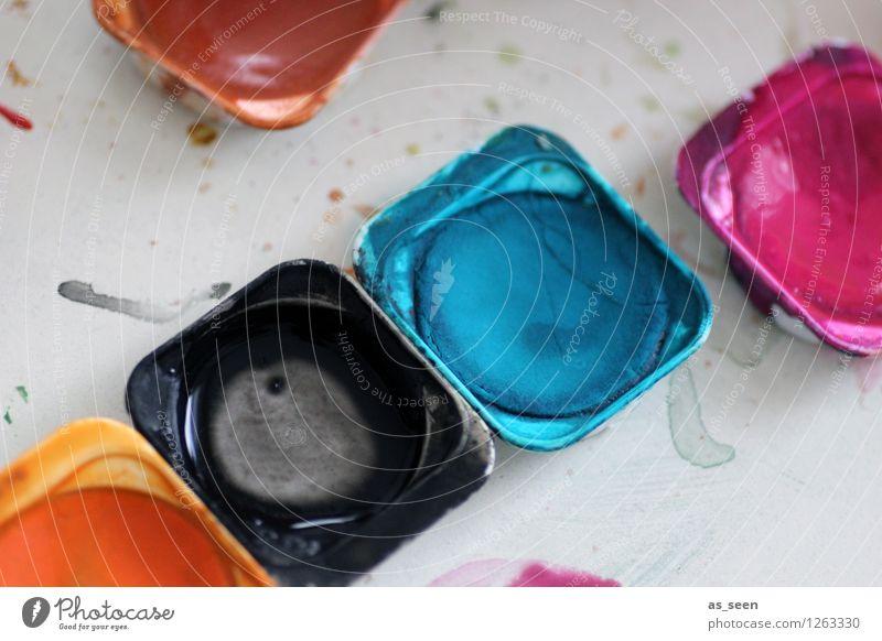 Colours Kind Farbe schwarz Schule Kunst rosa orange Design Freizeit & Hobby Dekoration & Verzierung dreckig Fröhlichkeit ästhetisch Kreativität malen türkis