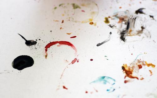Creative session Kind Farbe Freude Gefühle Bewegung Kunst Schule Design Freizeit & Hobby Dekoration & Verzierung dreckig Kreativität Lebensfreude