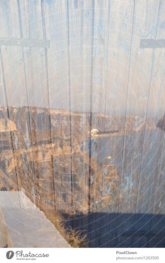 Tür zum Meer Lifestyle Stil Design harmonisch Erholung Häusliches Leben Baustelle Kunst Architektur Landschaft Bucht Insel Schifffahrt Holz
