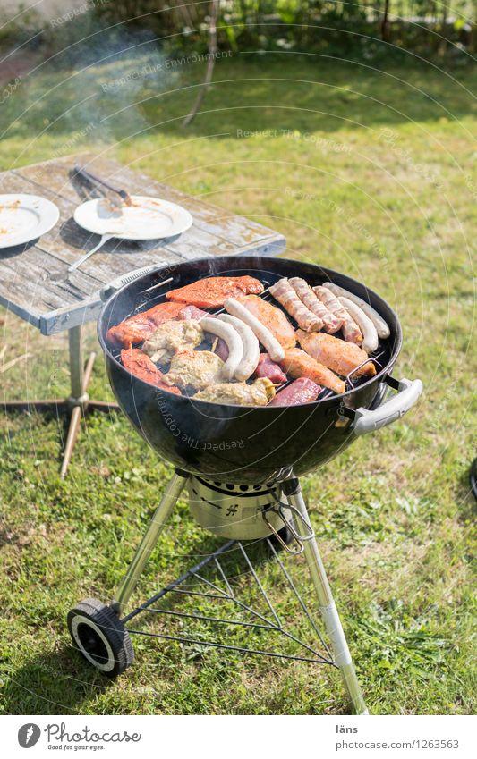 Grillzeit Grillen Garten Feste & Feiern Fleisch Sommer