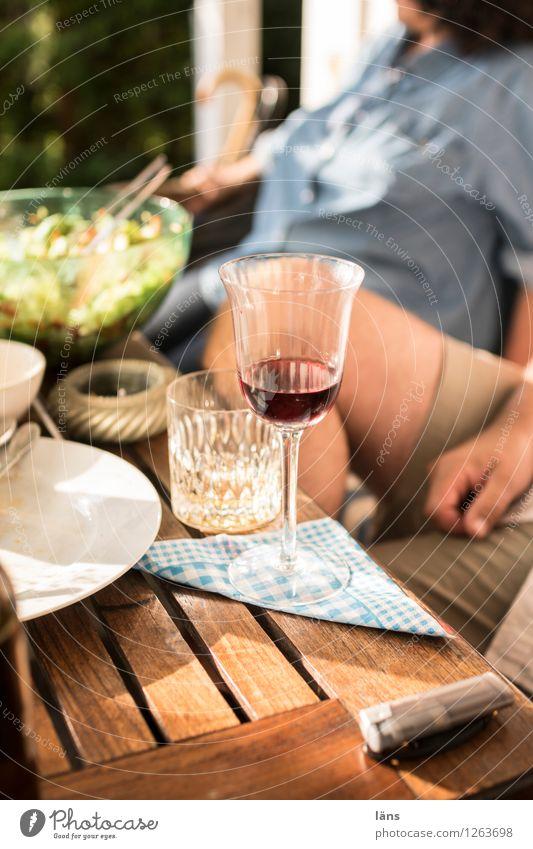 hochprozentig | genießen Glas Wein Whiskey
