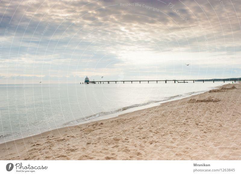 zinnowitz Himmel Ferien & Urlaub & Reisen Sommer Sonne Erholung Meer ruhig Wolken Strand Küste Tourismus Wellen Insel Ausflug Pause Ostsee
