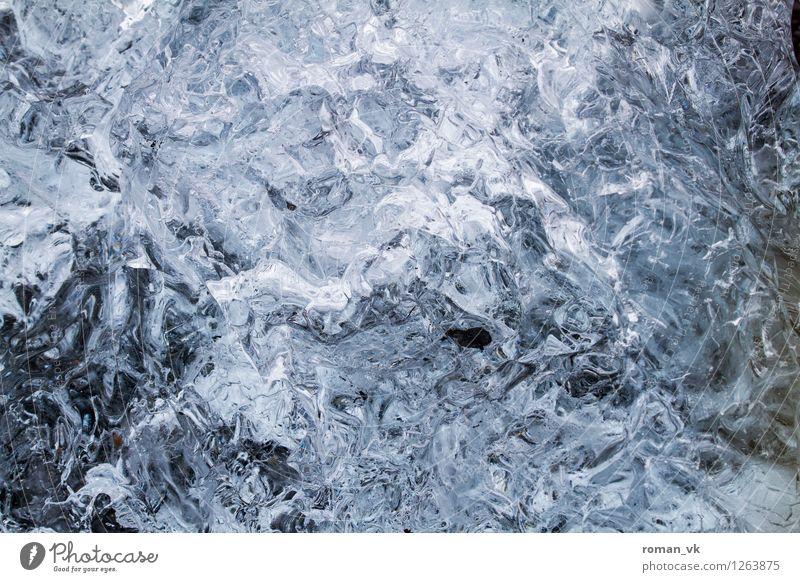 Eis mit Gletschergeschmack Natur Winter kalt Urelemente Coolness Eisberg