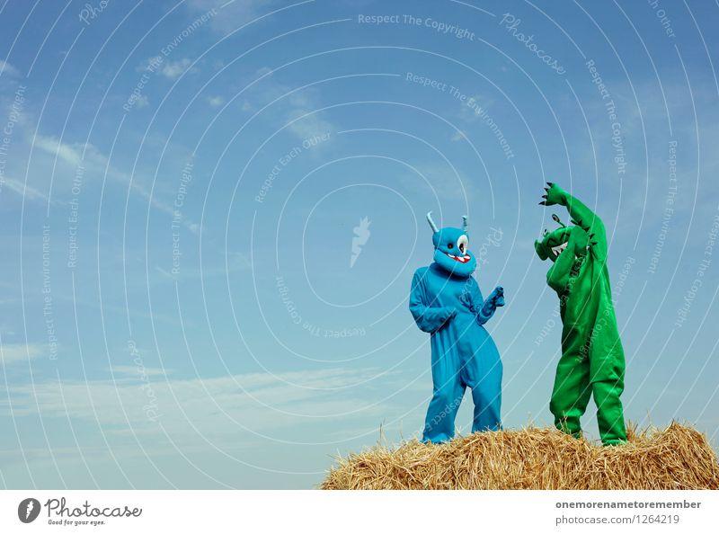 dance move Kunst Kunstwerk ästhetisch Tanzen Tanzveranstaltung Monster Außerirdischer Freude spaßig Spaßvogel Spaßgesellschaft Unsinn grün blau lustig verrückt
