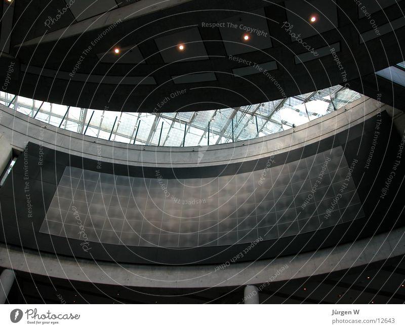 Haus der Geschichte 2 Architektur Glas rund Dach Museum Bonn