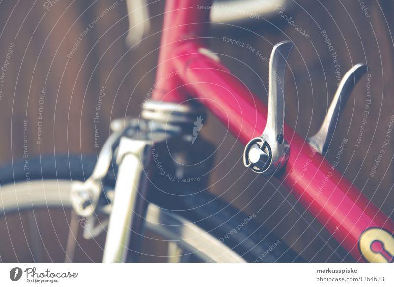 urbane mobilität - retro hipster rennrad Lifestyle elegant Stil Design Freude sportlich Fitness Freizeit & Hobby Fahrradfahren Medienbranche Werbebranche