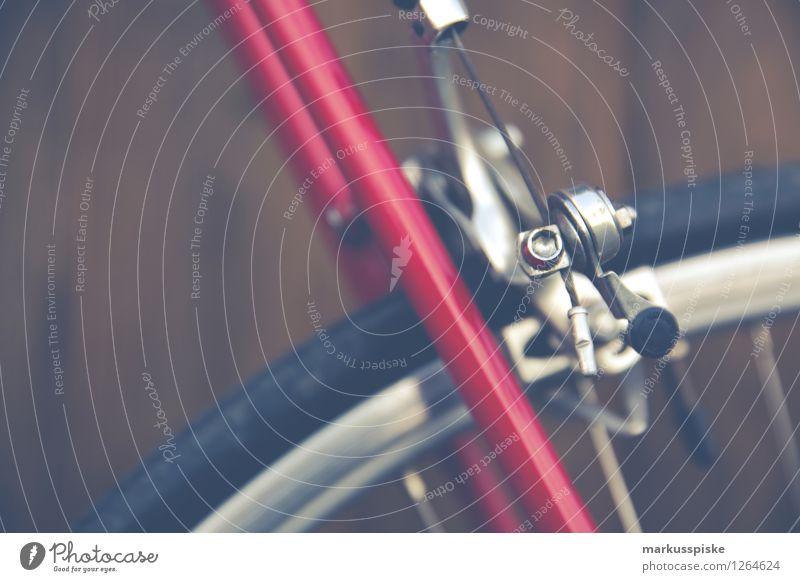 urbane mobilität - retro hipster rennrad Freude Bewegung Stil Lifestyle Freizeit & Hobby Design elegant ästhetisch Fahrradfahren Fitness sportlich trendy
