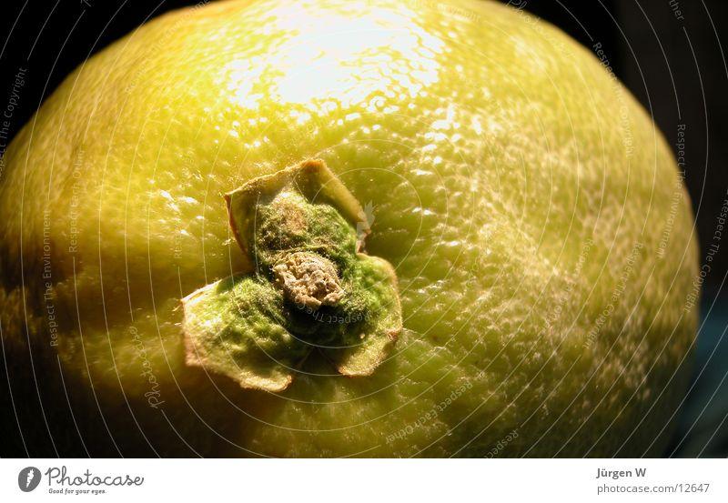 Mond mit Krater? grün Frucht süß rund Pomelo