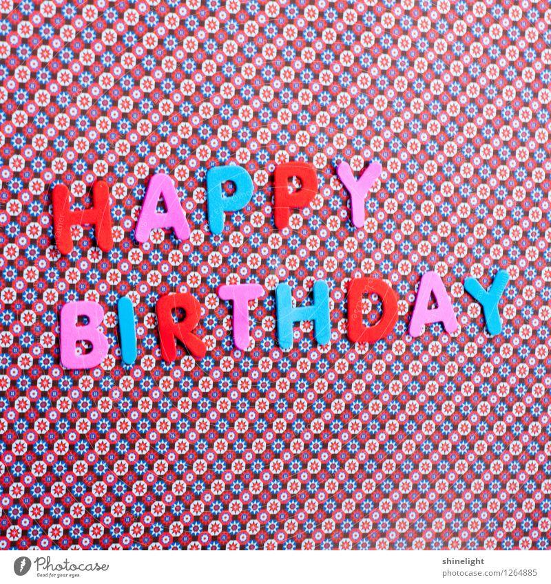 happy birthday blau rot Feste & Feiern rosa Geburtstag Geburt Glückwünsche Einladung Gratulation Happy Birthday einladen Geburtstagswunsch Alles Gute