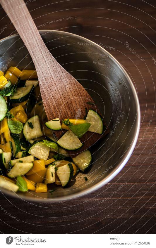 Grillgemüse grün braun Ernährung Gemüse lecker Bioprodukte Abendessen Diät Vegetarische Ernährung Mittagessen Grillsaison