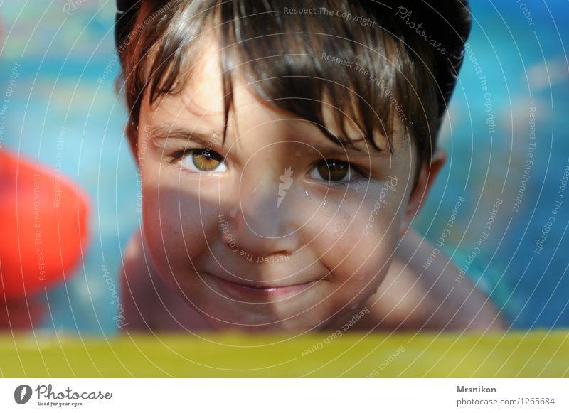 schaut her Freizeit & Hobby Spielen Ferien & Urlaub & Reisen Ausflug Abenteuer Sommer Sommerurlaub Sonne Mensch Kind Kleinkind Junge Kindheit Leben Kopf 1