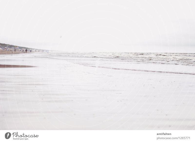Mehr Meer Ferien & Urlaub & Reisen Tourismus Ferne Freiheit Sommer Sommerurlaub Sonne Sonnenbad Strand Mensch Menschenmenge Natur Himmel Wolken Wetter