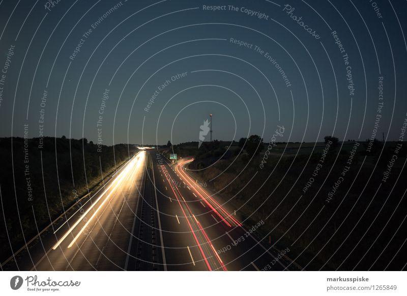 A9 bindlacher berg Landschaft Straße Arbeit & Erwerbstätigkeit träumen PKW Verkehr Güterverkehr & Logistik fahren Beruf Verkehrswege Stress Fahrzeug Autobahn