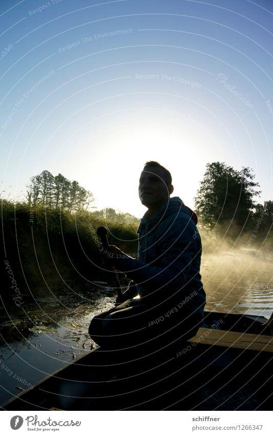 Spreedorado | Nachsitzen Mensch maskulin Junger Mann Jugendliche Erwachsene 1 Umwelt Natur Landschaft Pflanze Sonnenaufgang Sonnenuntergang Sonnenlicht