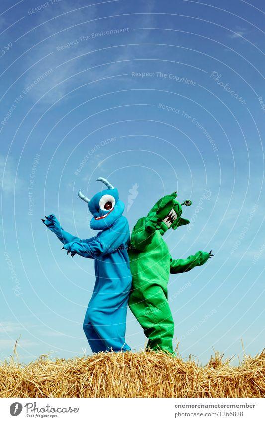 booty shake Kunst Kunstwerk Abenteuer ästhetisch Monster Außerirdischer außerirdisch Ungeheuer ungeheuerlich grün blau Karnevalskostüm Versteck verkleiden