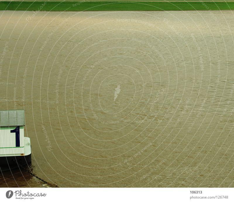 DAS VERFLIXTE ERSTE JAHR. REGEN IN BANGCOCK™ Meer Wohnung Haus Wetter Regen Wiese Küste See Fluss Wasserfahrzeug Ziffern & Zahlen Ekel kalt nass grün 1 Hausboot