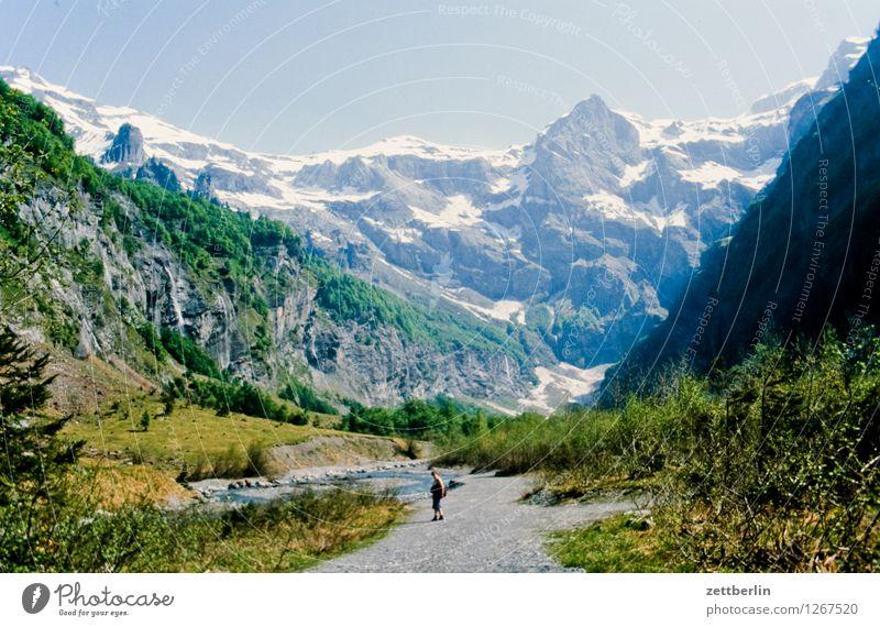 Frankreich (6) Europa Ferien & Urlaub & Reisen Reisefotografie Tourismus Landschaft Berge u. Gebirge Tal Serpentinen Wege & Pfade Fußweg Straße Pass wandern