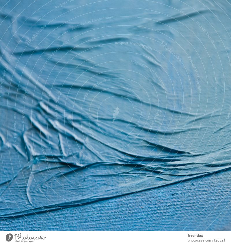 Ocean of Paper blau Farbe Meer Kunst Wellen Kultur Niveau Gemälde Stoff Bild Quadrat zyan Wellengang Schichtarbeit Projektionsleinwand Steigung