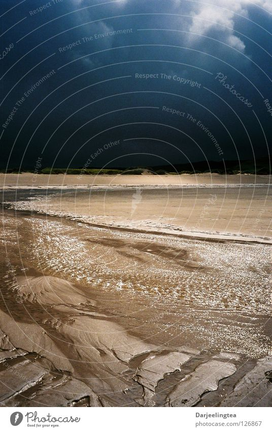 Sandwood Bay, Schottland Himmel Meer Strand Wolken Küste Erde Unwetter