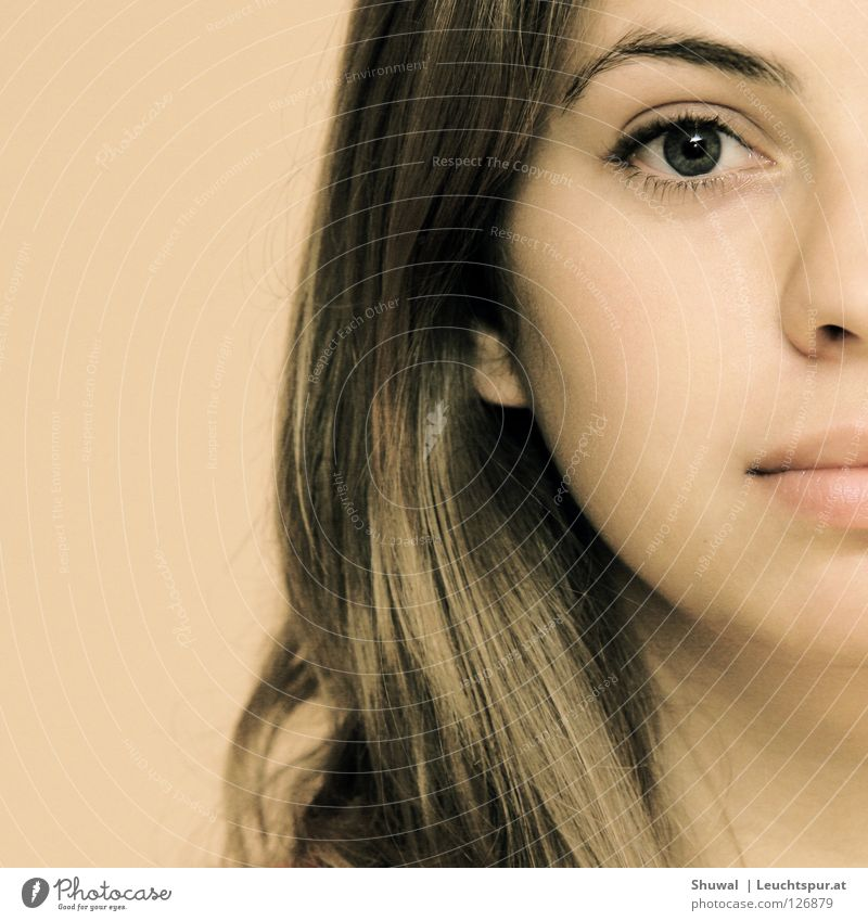 praschtschaj Frau Jugendliche schön Gesicht Auge feminin Haare & Frisuren Kopf elegant Haut Mund Nase Hoffnung Vertrauen Lippen Momentaufnahme