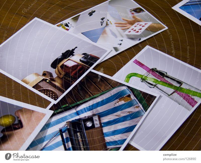 my_photocase Kunst Freizeit & Hobby Fotografie mehrere Kultur Bild viele Sammlung Gesichtsausdruck Radio Selbstportrait Druck Poker Auswahl Achtziger Jahre