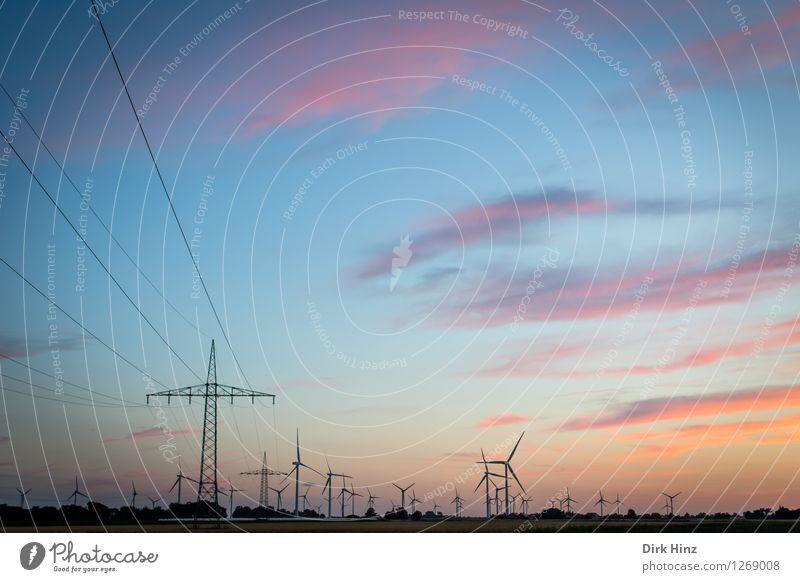 Energiewende Wirtschaft Kabel Technik & Technologie Wissenschaften Fortschritt Zukunft Energiewirtschaft Erneuerbare Energie Windkraftanlage Energiekrise