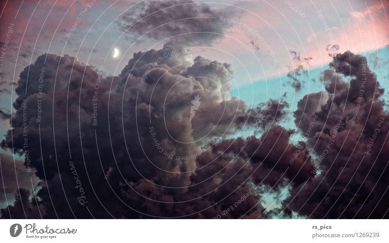 Guter Mond... Himmel schön Wolken Stimmung Wetter Warmherzigkeit Urelemente Macht Sicherheit Sehnsucht Willensstärke standhaft
