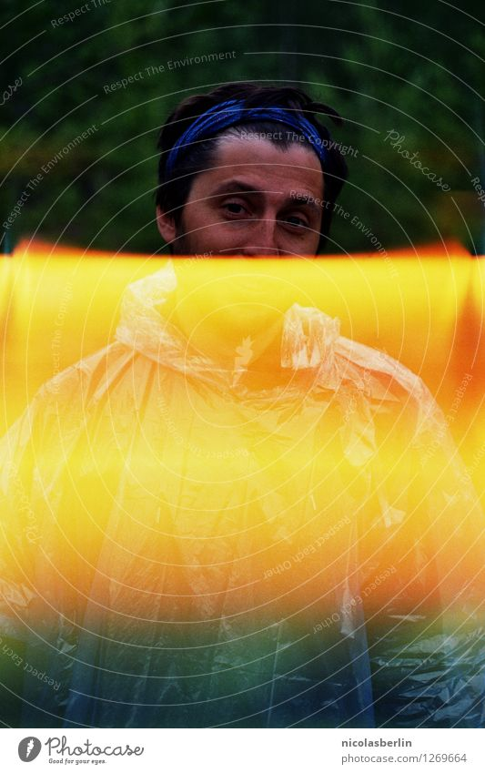 MP135 - Drüben bei Penny   Festival Season Mensch Ferien & Urlaub & Reisen Jugendliche Sommer Junger Mann dunkel 18-30 Jahre Erwachsene Umwelt kalt Wiese