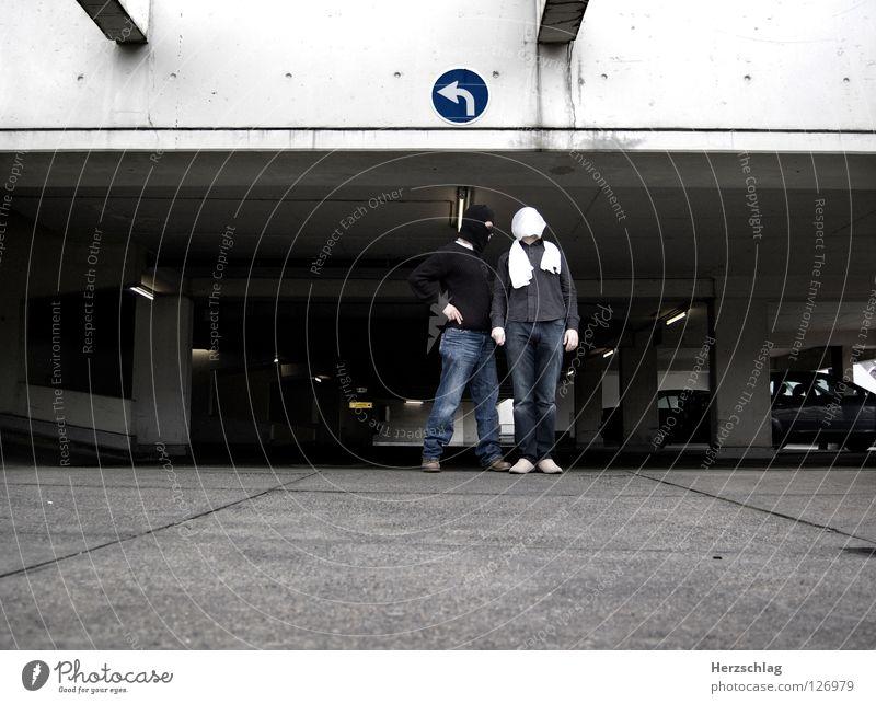 Um die (Linke) Ecke gebracht ... Arme verrückt reich links klug Moral Photo-Shooting Überfall Philosophie Scheich