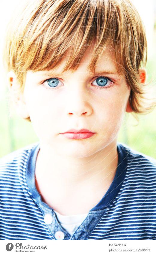 *500*...DAS IST MEIN ERNST! Mensch Kind blau schön Gesicht Auge Liebe Junge Familie & Verwandtschaft Haare & Frisuren Kopf maskulin Körper Kraft blond Kindheit