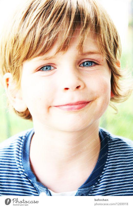 *350* mal geträumt... Kind blau schön Freude Gesicht Auge Liebe Junge lachen Glück Familie & Verwandtschaft Haare & Frisuren Kopf Zufriedenheit wild Körper