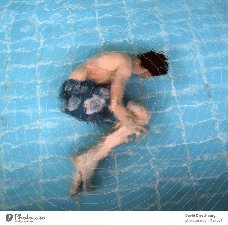 Kachelgeflüster 15 nass Schwimmbad türkis tauchen Luft Embryo Badehose Aerobic Hand frieren 2 Tauchgerät Monster Meter Startschuss Sportveranstaltung letzte