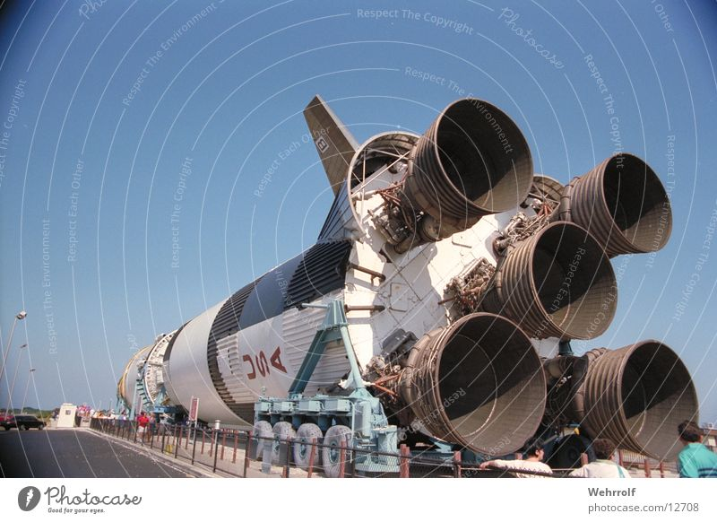 Saturn 5-2 Technik & Technologie USA Amerika Rakete Elektrisches Gerät
