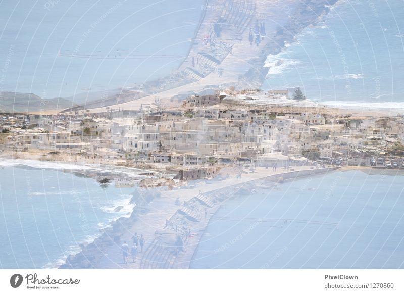 Naxos Stadt Ferien & Urlaub & Reisen blau Sommer Sonne Meer Landschaft Leben Architektur Küste außergewöhnlich Schwimmen & Baden Lifestyle Stimmung Tourismus