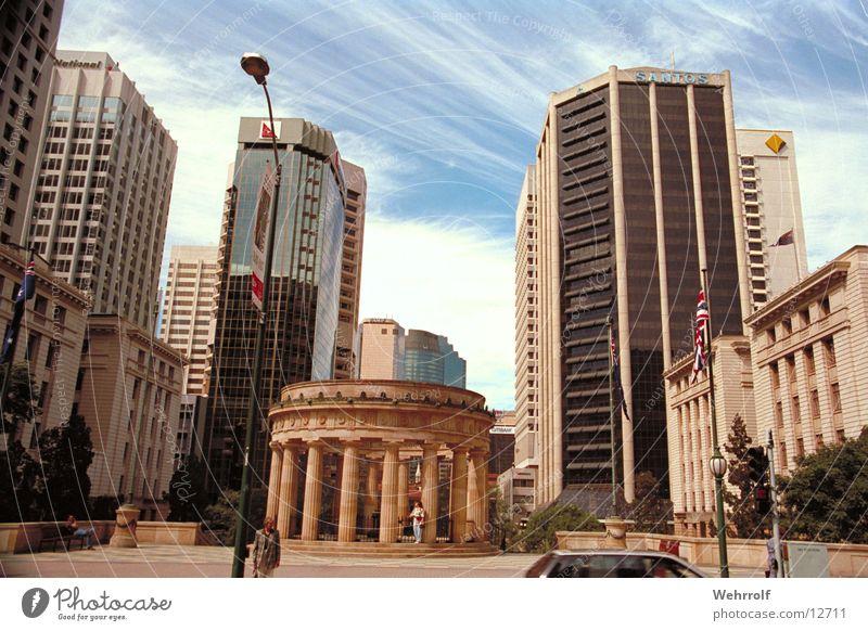 Brisbane2 Stadt Stadtzentrum Australien