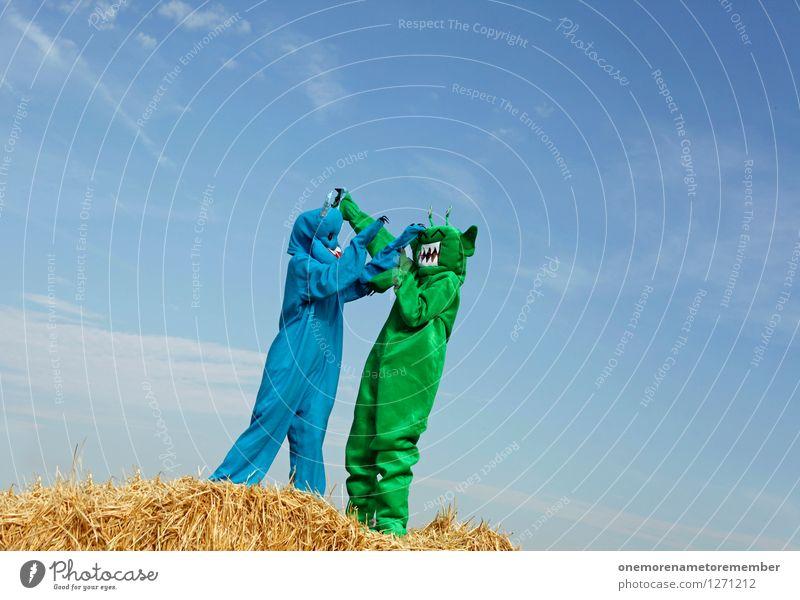 dance with somebody blau grün Freude Stil Sport Kunst Lifestyle Design 2 Freizeit & Hobby elegant ästhetisch Abenteuer exotisch Gewalt Konflikt & Streit