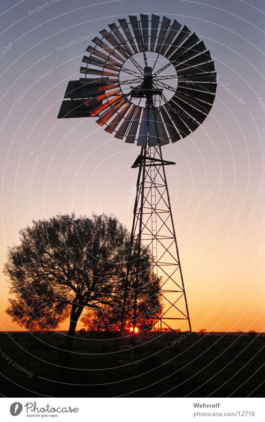 outback2 Australien Outback Sonnenuntergang Natur