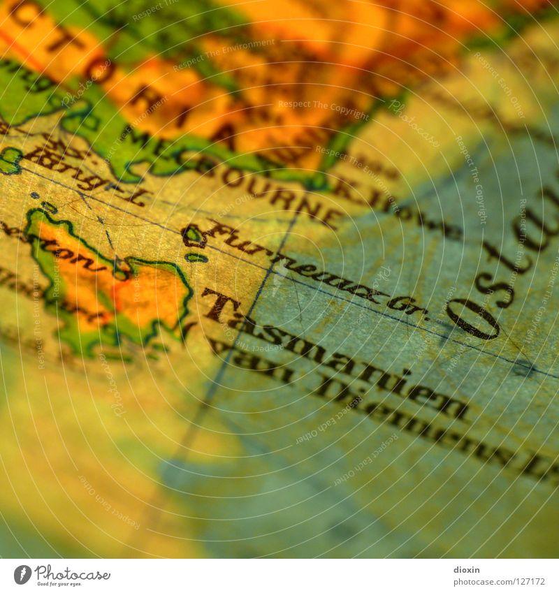 In 20 Tagen um die Welt; Tag10: Tasmanien Insel Landkarte Australien Nationalpark Tasmanien Hobart Cradle Mountain