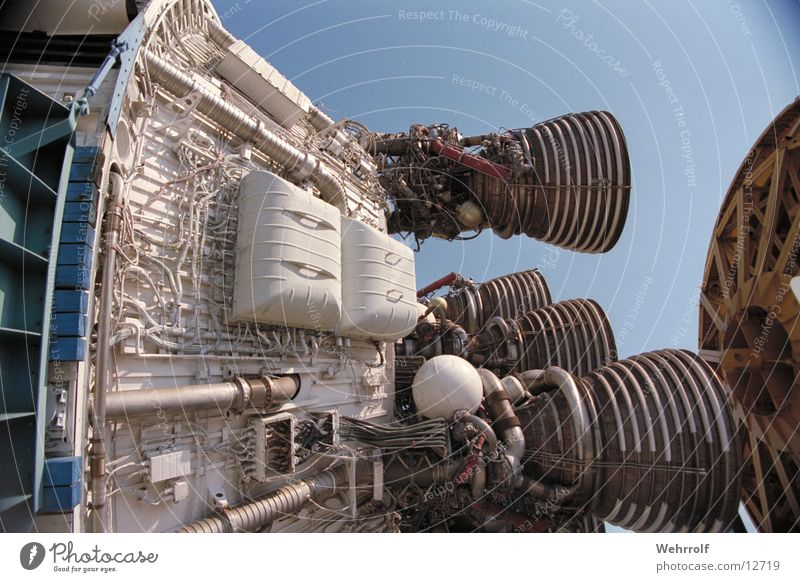 Saturn 5 Technik & Technologie USA Amerika Rakete Elektrisches Gerät