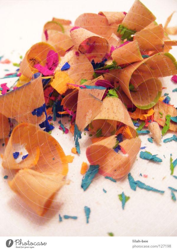holahi du dödl du grün blau schwarz gelb Farbe Holz Kunst dreckig rosa violett Müll streichen Schreibstift zeichnen türkis Farbstift
