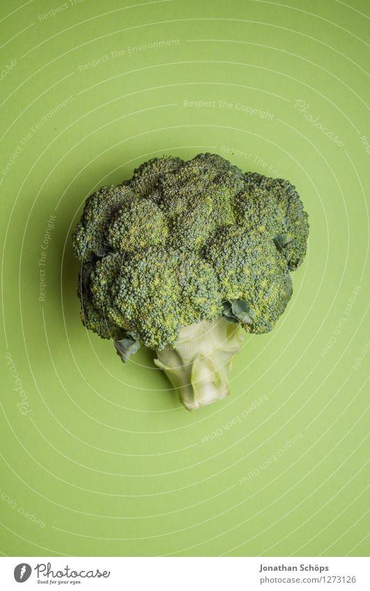 Der Brokkoli II grün Gesunde Ernährung Speise Essen Foodfotografie Gesundheit Lebensmittel ästhetisch nah Gemüse lecker Bioprodukte Vegetarische Ernährung roh