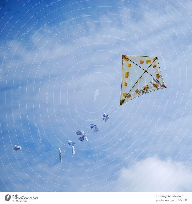 Kite Aerial Photography II Himmel blau Strand Freude Wolken Herbst Spielen oben Freiheit Luft Kindheit Wind Freizeit & Hobby fliegen frei Flugzeug