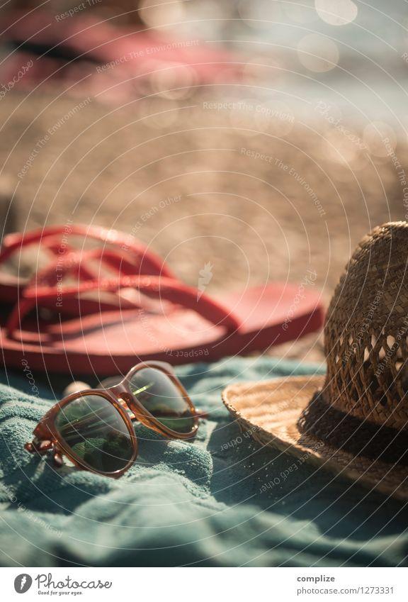 Strand-Gut! Ferien & Urlaub & Reisen Sommer Sonne Erholung Meer Ferne Gesundheit Tourismus Wellen Insel Sonnenbad Sommerurlaub Sonnenbrille Mittelmeer Kroatien