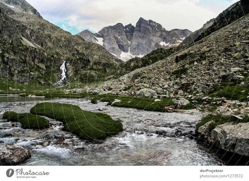 Pyrenäen-Wanderweg 10 Ferien & Urlaub & Reisen Tourismus Ausflug Abenteuer Ferne Freiheit Berge u. Gebirge wandern Umwelt Natur Landschaft Pflanze Tier