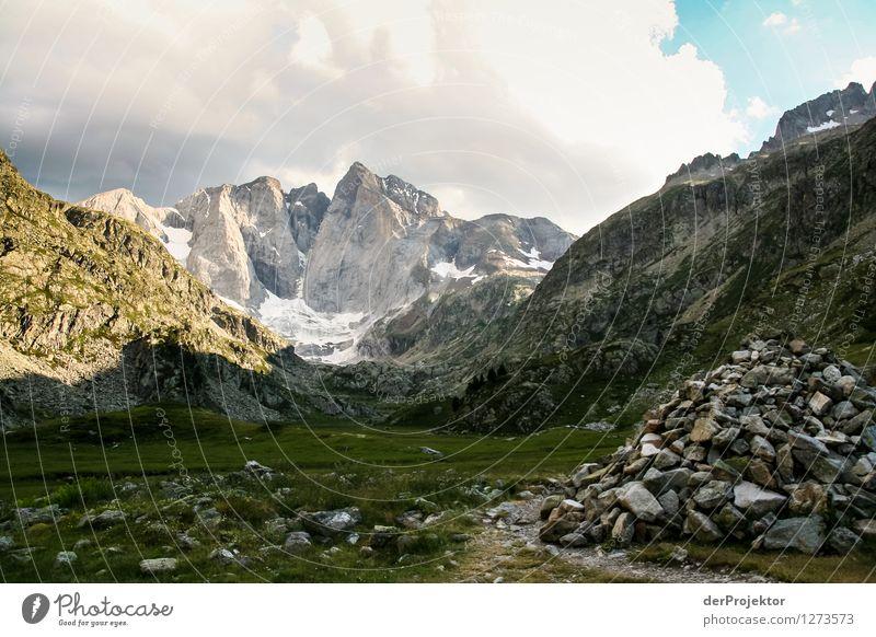Pyrenäen-Wanderweg 14 Natur Ferien & Urlaub & Reisen Pflanze Sommer Landschaft Tier Ferne Berge u. Gebirge Umwelt Gefühle Freiheit Felsen Tourismus Kraft