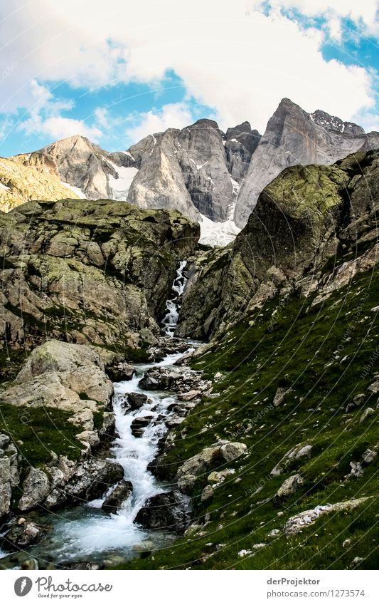Pyrenäen-Wanderweg 7 Natur Ferien & Urlaub & Reisen Pflanze Sommer Landschaft Wolken Tier Ferne Berge u. Gebirge Umwelt Gefühle Freiheit Felsen Tourismus