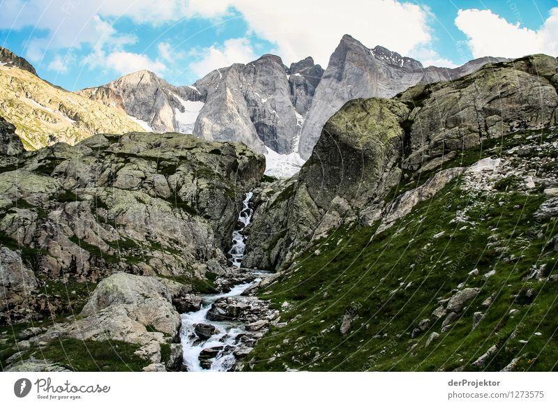 Pyrenäen-Wanderweg 21 Natur Ferien & Urlaub & Reisen Pflanze Sommer Landschaft Tier Ferne Berge u. Gebirge Umwelt Gefühle Schnee Freiheit Felsen Tourismus