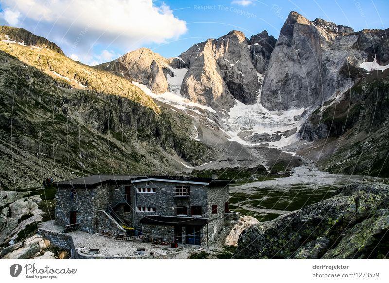 Pyrenäen-Wanderweg 13 Natur Ferien & Urlaub & Reisen Pflanze Sommer Landschaft Freude Tier Ferne Berge u. Gebirge Umwelt Gefühle Glück Freiheit Felsen Tourismus