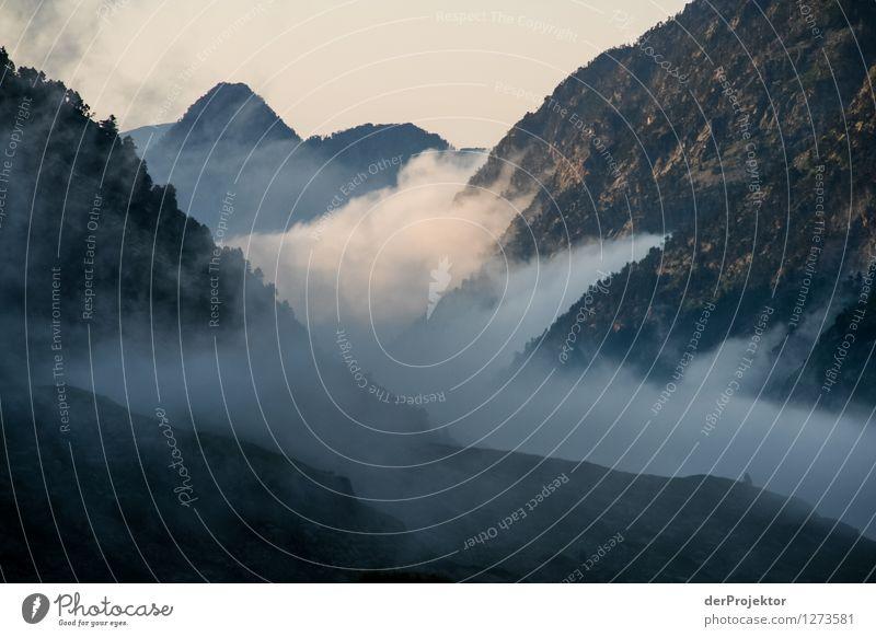 Pyrenäen-Wanderweg 9 Natur Ferien & Urlaub & Reisen Pflanze Sommer Landschaft Tier Ferne Wald Berge u. Gebirge Umwelt Gefühle Freiheit Felsen Tourismus Nebel Ausflug